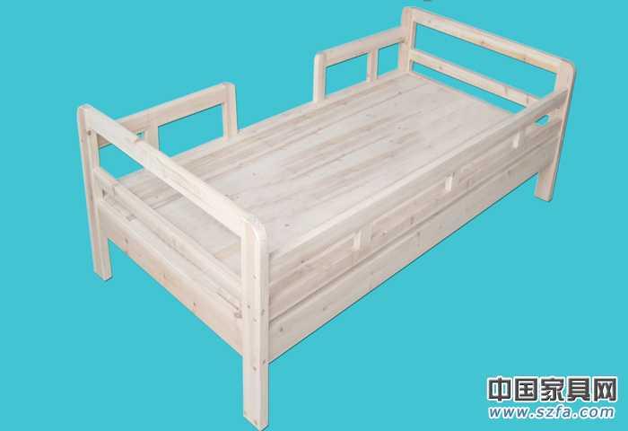 简约时尚实木床/儿童床/实木家具/田园风格/床/木床
