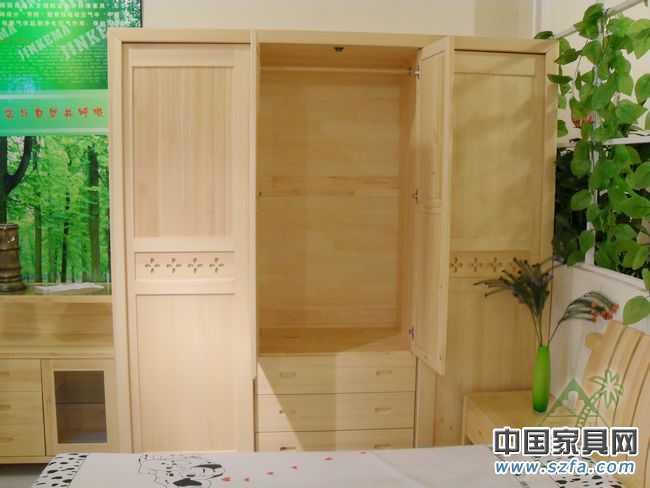 松木家具/实木衣柜1800*1950*550