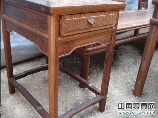 红酸枝鸡翅木红木圈椅沙发8件套,红木仿古家具