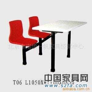 快餐桌椅 卡座 餐厅家具