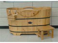 木桶/木桶川木单边木扶手木桶 木浴桶