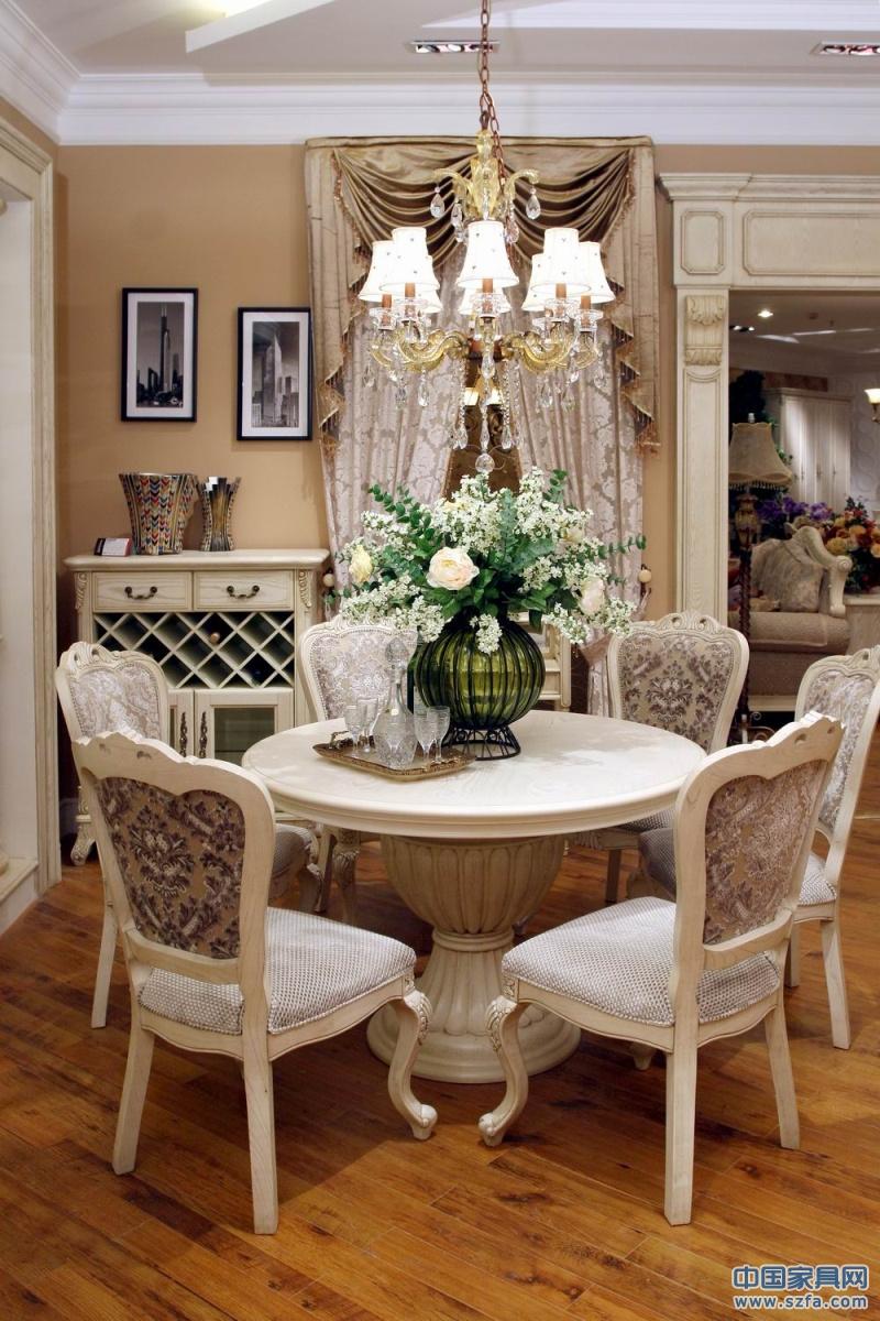 帕克雷蒂餐厅实木家具餐桌椅