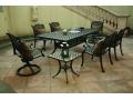 户外家具实木套桌椅YQ01-24