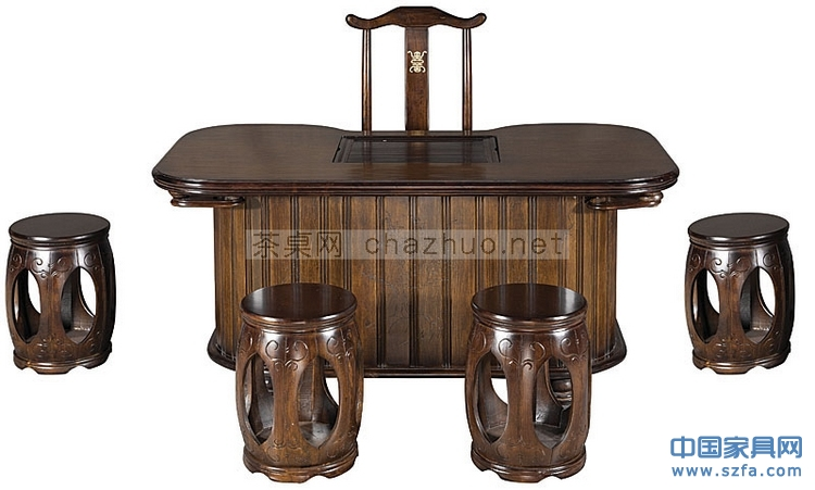 茶桌 茶台 中式家具图片