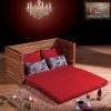 厂家直销藤家具藤木沙发床多功能沙发床藤椅藤沙发