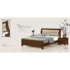 [0900]实木床 舒适靠背