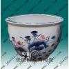 供应景德镇陶瓷大缸,鑫腾陶瓷大缸,手绘青花陶瓷鱼缸