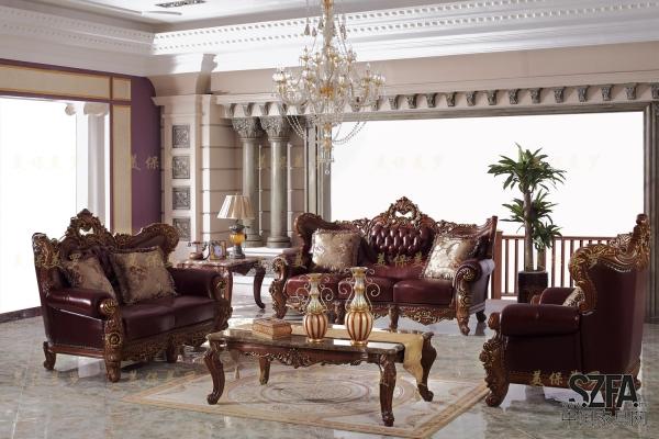 美保美罗沙发 豪森沙发 欧式家具 美式沙发