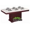 实木火锅桌,电磁炉火锅桌,电陶炉火锅桌