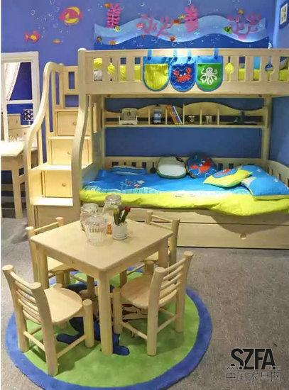 松堡王国:儿童松木家具专家02营造健康成长空间