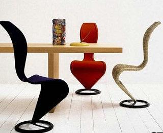 S型线条椅前卫大胆创意 让椅子不再甘于平凡
