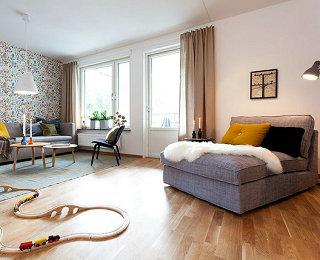 简约风格的童心公寓 适合孩子的家庭生活空间