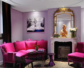 家居创意增添生活魅惑力 让红色热烈而不跳脱