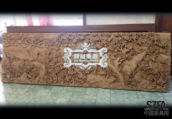 行业柚木雕刻兴起帝国为家具探新路_新闻安吉佳家之家具图片