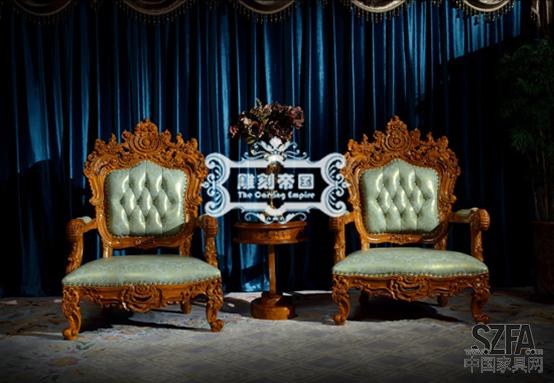 雕刻帝国柚木家具扩张:好家具不没市场_产品福建批发市场家具