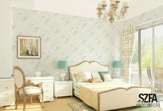这种壁纸应搭配欧式古典家具