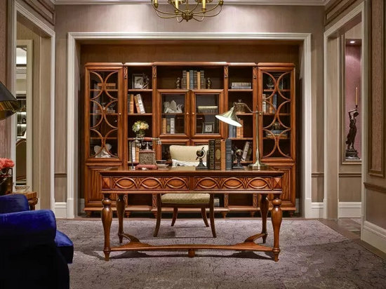 美式屋金木鞋柜图片