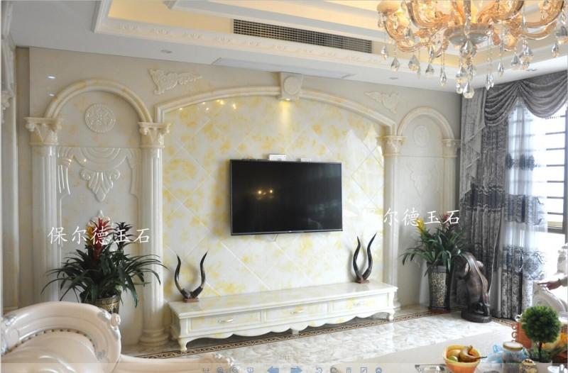 玉石背景墙设计