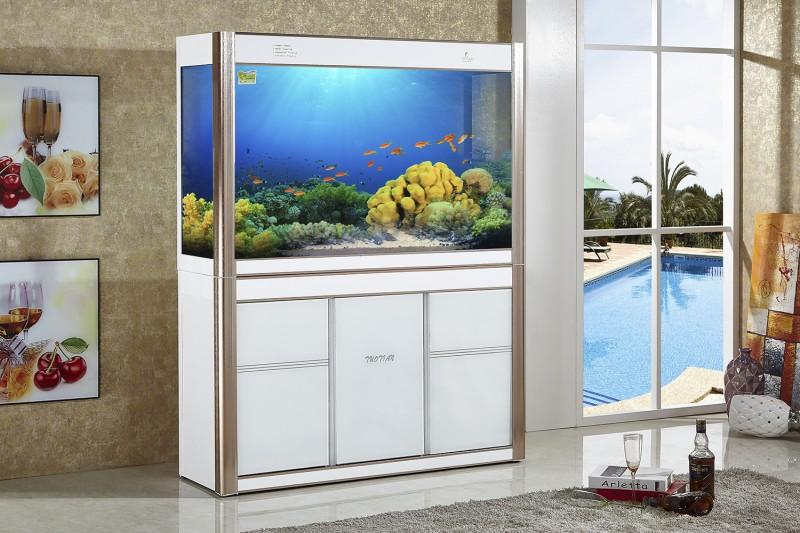 成都托田家居风格鱼缸,欧式鱼缸,实木鱼缸,亚克力鱼缸