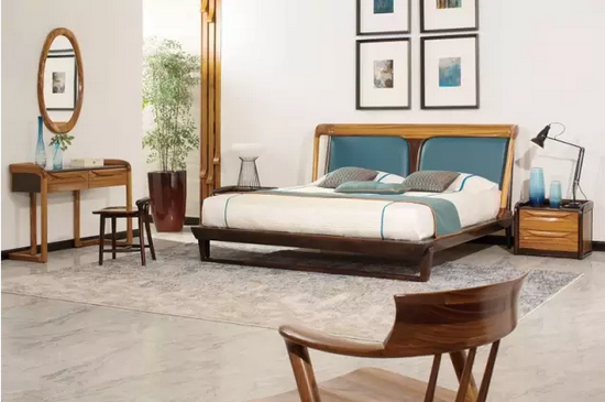 柏森家具以实木起家,在当时实木市场普遍以古典风格为主的时候,独树一