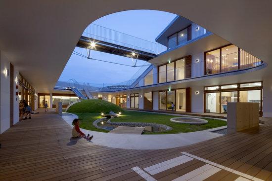 寓学于乐的日本幼儿园设计_建筑案例_设计_中国家具网
