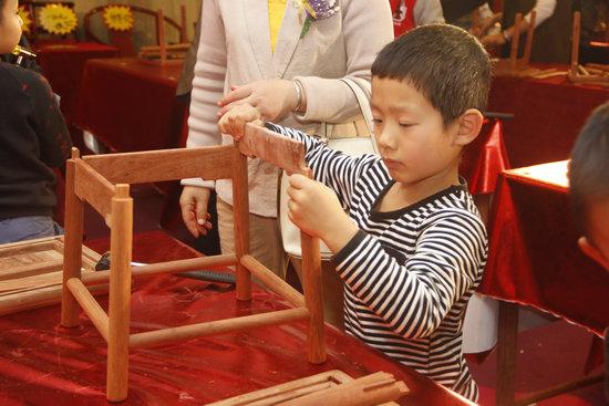 创意十二月——友联为家少儿红木木工大赛圆满举行