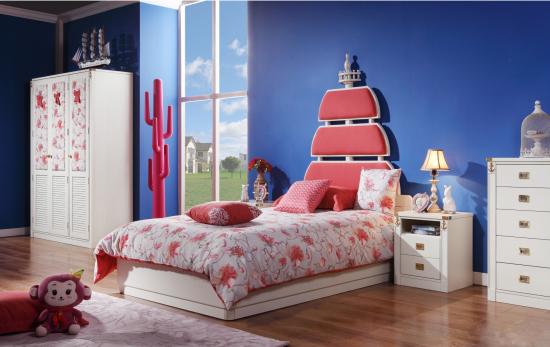 背景墙 床 房间 家居 家具 设计 卧室 卧室装修 现代 装修 550_347