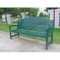 供应宝林园全钢结构休闲长椅
