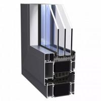 华建易欧思系统门窗ES101被动窗,专为被动房研发的高隔热窗