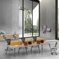 热销办公家具开放式工作位、员工工作位、现代钢木工作位