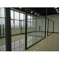 钢化玻璃隔断,磨砂玻璃隔墙
