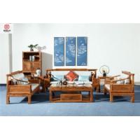 红木家具-新中式雅居沙发-花梨木沙发-东阳红木家具厂