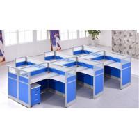 现代办公桌职员工位一对一辅导桌电话销售桌
