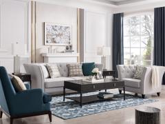 纯正美国血统,顿图演绎美式沙发的舒适与惬意