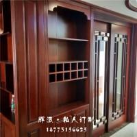 长沙市整房实木定制推广、实木房门、玄关柜订制木蜡油好