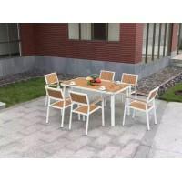 宝林园供应钢木组合椅