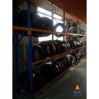 深圳轮胎货架简单美观且容量大!