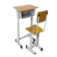 HX舒誉加厚双滑道升降学生课桌椅