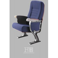 广东连排软座会议椅厂家直销带写字板礼堂椅会议椅
