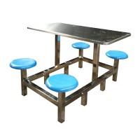 学校选择四人六人食堂餐桌椅注意事项