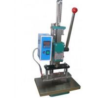 手压式竹木皮革塑胶烙印机商标烙印压花热压机家具打标机烫印机