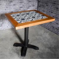 坂田餐厅双人餐桌|4人餐桌椅|家具实木餐桌|厂家送货安装