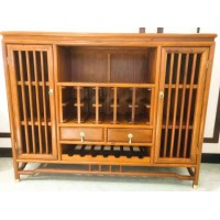 东阳红木家具新中式餐边柜