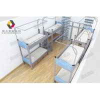 中山高校宿舍床让整个宿舍空间变得宽阔整洁