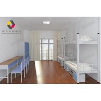 惠州双层宿舍床让整个宿舍空间变得宽阔整洁