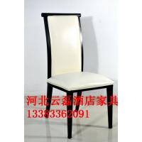 新中式酒店包厢桌椅网红餐厅火锅饭店宴会所椅子简约古典风铁艺椅