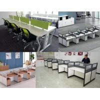 办公桌电脑桌一对一培训桌职员工位电销客服桌