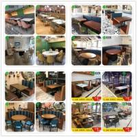 深圳威廉希尔中国app厂定制各式中餐厅茶餐厅桌椅 湘菜馆桌椅卡座沙发