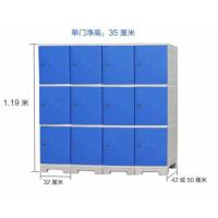 福建福州健身房更衣柜ABS塑料储物柜浴室水上乐园储物更衣柜